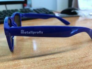 Sonnenbrillen für die Metallprofis